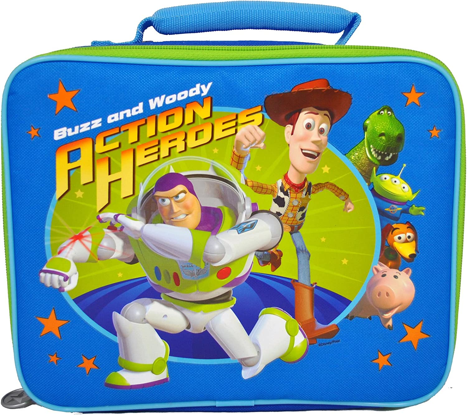 salida Zak  Disney Pixar Movie Series Juguete Story Buzz Buzz Buzz and Woody Acción Heroes Single Compartment Soft Insulated Lunch Bag (Bag Dimension  10 x 8-1 2 x 3-1 2) by Juguete Story  100% garantía genuina de contador
