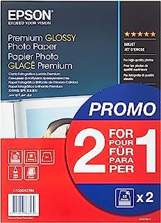EPSON błyszczący papier fotograficzny premium 255 g/m2 papier (A4 210 × 297 mm) 2 x 15 arkuszy 1 opakowanie