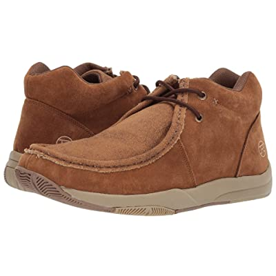 Roper Clearcut (Tan Suede/Tan Canvas Vamp) Men