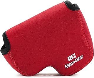 MegaGear MG728 Estuche de Cámara Ultra Ligero de Neopreno para Nikon Coolpix B500 color Rojo