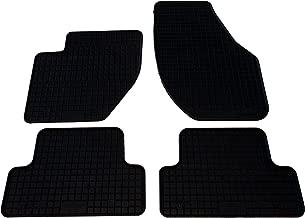 Velours Fußmatten für Volvo V40 Bj 1996-2004 schwarz mit Absatzschoner STD