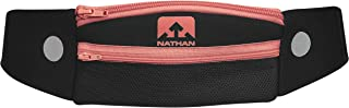 NATHAN Running Belt Waist Pack 5K with Reflective Detail, Zippers and Adjustable Pouch Strap - Runners Fanny Pack - Bounce Free Pouch, Ultra-Lightweight Neoprene - Fits all Phones (iPhone, Android, Windows) - For Men and Women - Running, Biking, Hiking, CrossFit, Workout