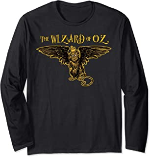 Oz Wicked Witch Get My Flying Monkeys Retro The Wizard of OZ Long Sleeve T-Shirt