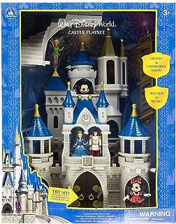 Walt Disney World Parks Cinderella Castle Large Playset Play Set Mickey Minnie