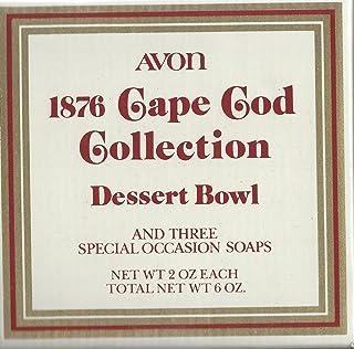 Vintage Avon 1876 Cape Cod Collection Dessert Bowl 6 oz 2 oz each