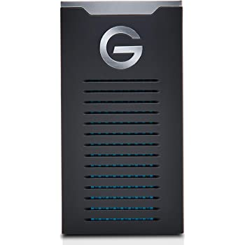 G-Technology 2TB G-DRIVE mobile SSD Durable Portable External Storage - USB-C (USB 3.1), Up to 560 MB/s - 0G06054-1