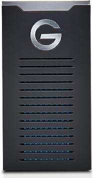 TALLA 2 TB. G-DRIVE Mobile SSD R-Series de 2 TB y hasta 560 MB/s, almacenamiento portátil, resistente a caídas, a golpes y al agua
