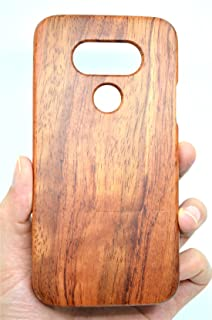 LG G6 Wooden Case, PhantomSky[Luxury Series] Premium Quality Handmade Natural Wood Cover for Your Smartphone - Rosewood