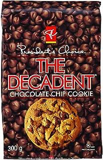 President's Choice Decadent Chocolate Chip Cookie, 10.58 Ounce
