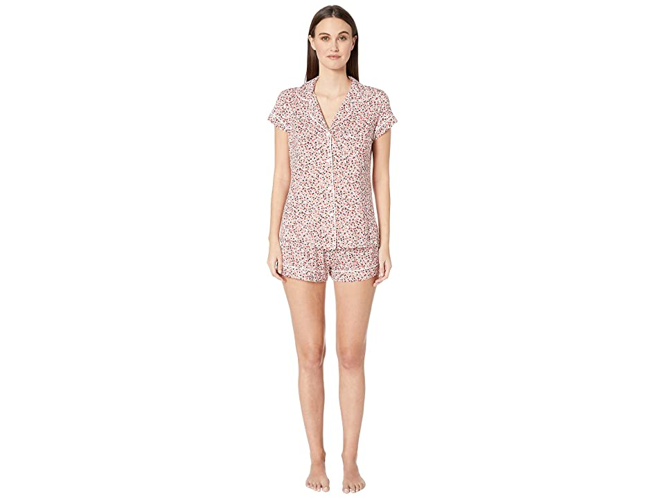 Eberjey Sleep Chic The Short PJ Set (Holly/Ivory) Women