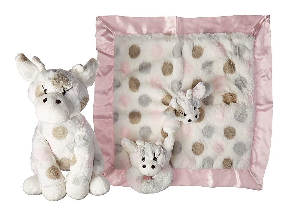 Little Giraffe Plush Toy Giftable Bundle (Pink) Accessories Travel