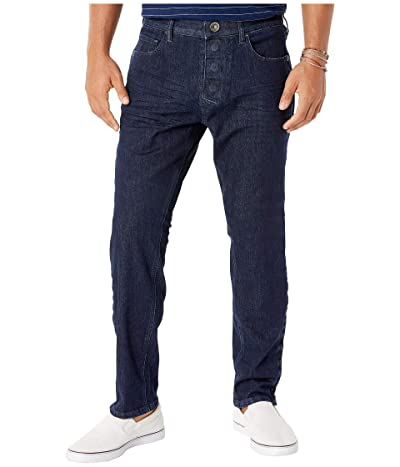 Seven7 able Adaptive Slim Athletic Fit Jeans w/ Magnetic and Micro Velcro(r) Closure in Blue Rinse (Blue Rinse) Men