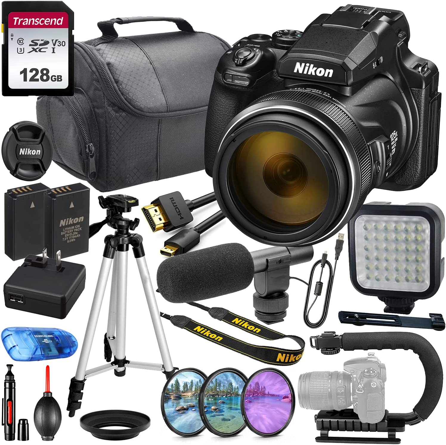 Nikon COOLPIX P1000 Digital Ranking TOP20 Camera 2021 new #26522 Making Video Bundl MFR