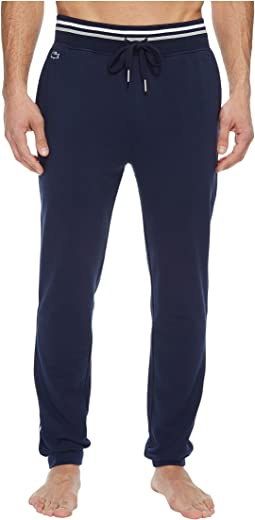 Lacoste - Modal French Terry Lounge Side Stripe Pants
