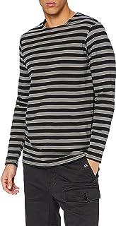 Urban Classics Regular Stripe LS Camiseta para Hombre