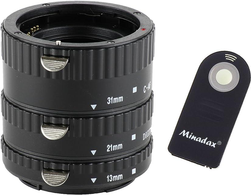De extensión automático 3 teilig 31 mm 21 mm y 13 millimeter para macrofotografía compatibles con Canon EF/EF-S EOS 1100D 1000D 600D 550D 500D 450D 400D. 350D 300D