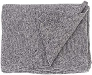 State Cashmere Luxe Stroller Baby Blanket 100% Pure Cashmere Travel Wrap • 40 x 30 inches