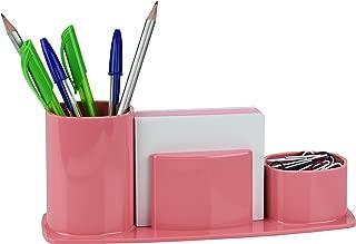 Porta Lápis Clips e Papel Lembrete, Acrimet, 740.9, Rosé Sólido