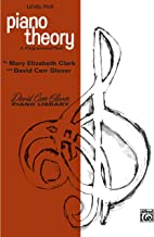 Piano Theory: Level 5 (A Programmed Text) (David Carr Glover Piano Library)