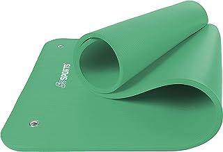 ScSPORTS gymnastik-/yogamatta, med axelrem, extra stor och tjock, 185 cm x 80 cm x 1,5 cm