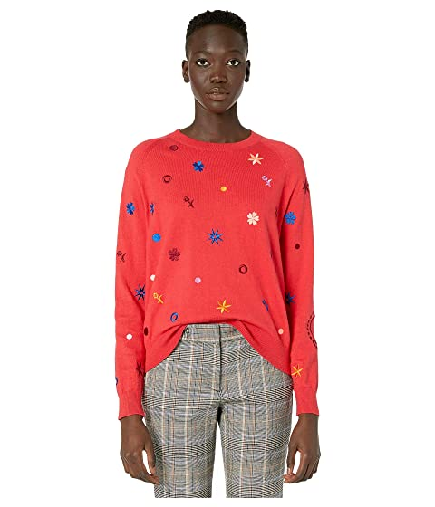 Paul Smith Multi Object Knit Sweater