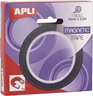 comprar comparacion APLI 17724 - Cinta adhesiva magnética 19 mm x 2,5 m