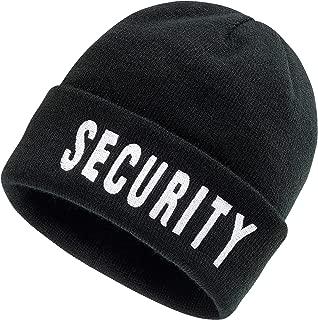 Brandit Security Beanie Berretto nero con Security Stick