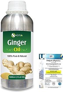 Ginger (Zingiber officinale) 100% Natural Pure Essential Oil 1000ml/33.8fl.oz.