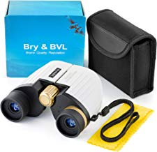 Binoculars for Kids - High Resolution, Shockproof – 8X22 Kids Binoculars for Bird Watching, Best Gift for Boys, Girls – Real Optics Set for Outdoor Toddler Games – Detective and Spy Kids Toys