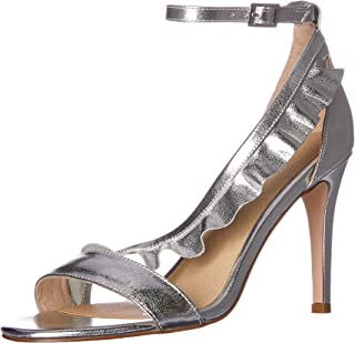 NUDE Women's Moore Fashion Sandals, Silver