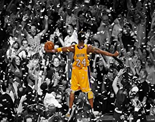 Kobe Bryant Day Remembering Game 7 of the 2010 Lakers-Celtics Finals Poster - Unframed 11x14 Inches Canvas Art Print