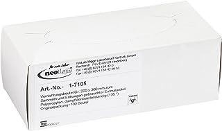 Neolab 1 7105 - Bolsas desechables PP, autoclavables, 30 cm x 20 cm (100 unidades)