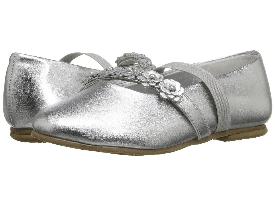 Jumping Jacks Kids Balleto Charm (Toddler/Little Kid/Big Kid) (Silver Metallic) Girls Shoes