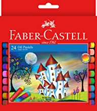 Faber-Castell Super Smooth Oil Pastels, Assorted – Pack of 24, (21-010109)