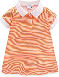 LittleSpring Little Girls' Dresses Striped