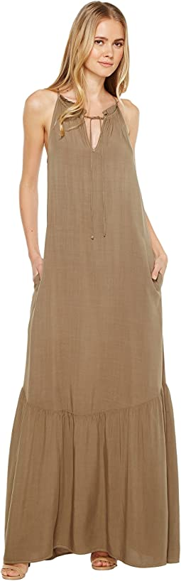 Michael Stars Modern Rayon Maxi Dress