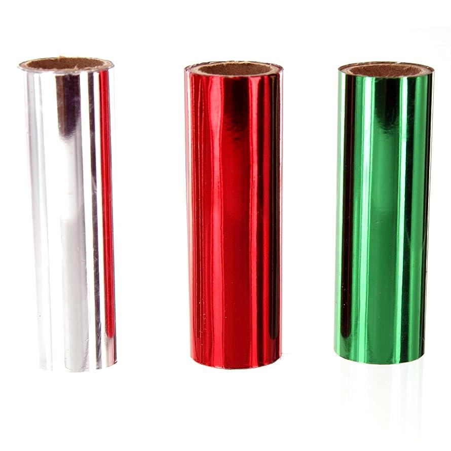 Shesto Limited Foilart 1 M x 74mm Rolls 3 Plain Foils