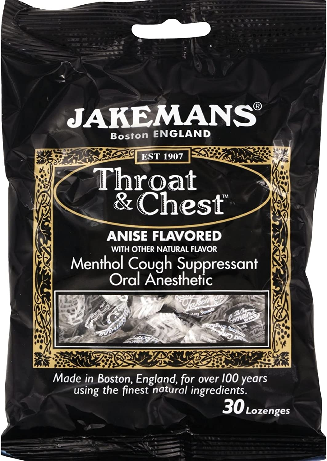 Jakemans Lozenge New color - Throat and Free Harsh Cheap mail order shopping from Licorice Chest