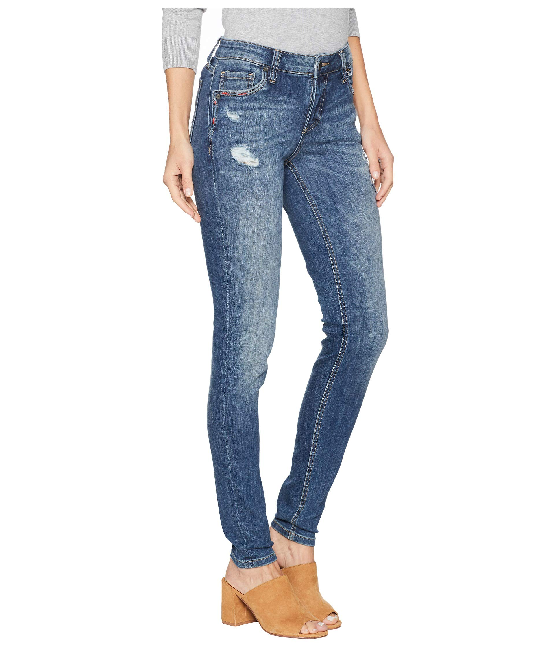 From The Toothpick In medium Mia Rallied Pocket Kloth Jeans Rallied Notch Skinny Wash Kut Front Base d5qIwRv
