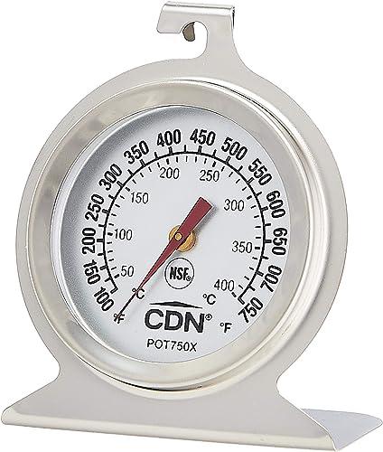 Termómetro de horno ProAccurate DOT2 con certificación NSF, ProAccurate termómetro de horno para altas temperaturas, ...