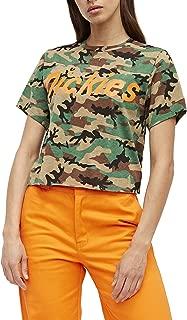 Girl Juniors' Cropped Ringer Short Sleeve T-Shirt