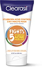 Clearasil Stubborn Acne Control One Minute Mask, 6.78 oz. (Pack of 6)
