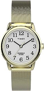 Timex Women's Easy Reader 25mm Mesh Band Watch TW2U08000