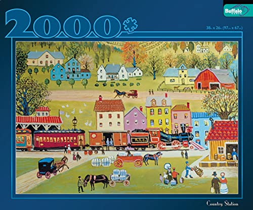 Buffalo Games 2000pc  Country Station