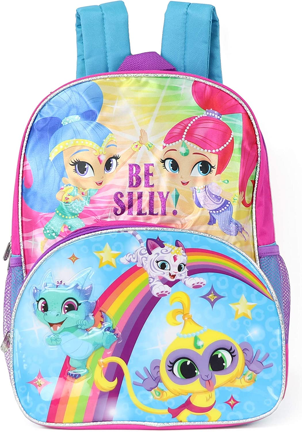 Nickelodeon Girls' Shimmer and Shine Backpack, Pink, One Size