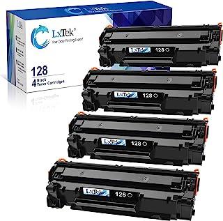 Best LxTek Compatible Toner Cartridge Replacement for Canon 128 CRG128 (Black, 4-Pack) Review