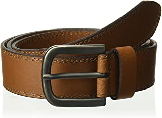Dickies Mens Two Row Stitch Belt