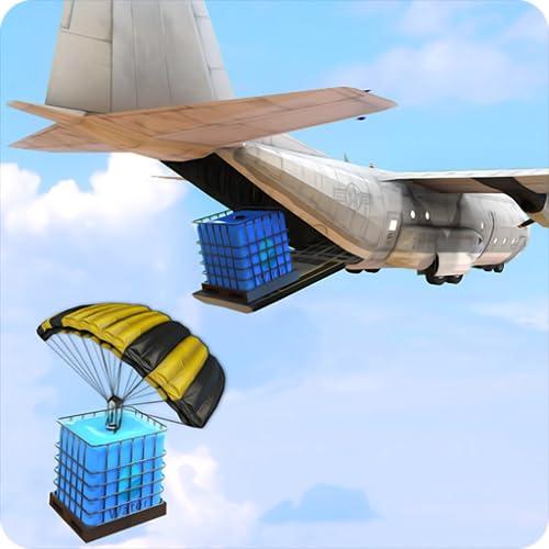 Airplane Water Cargo Transporter Plane 2020
