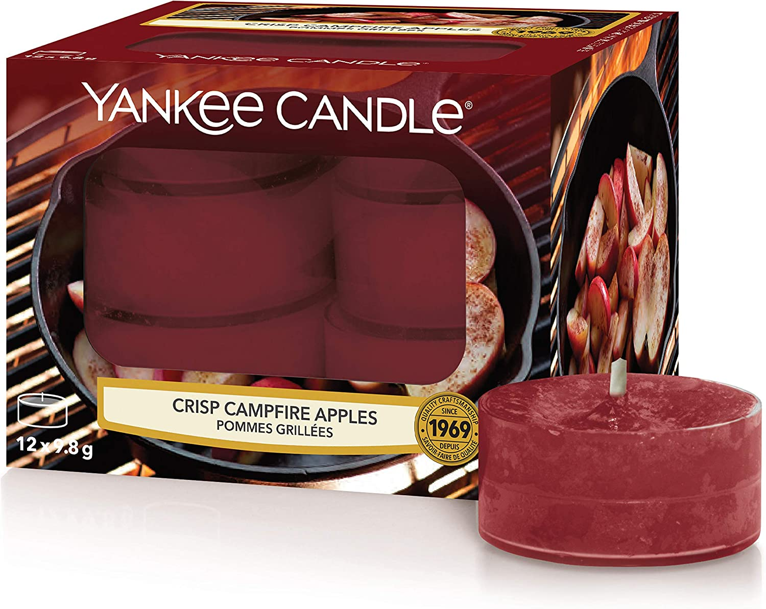 12 Count Midsummers Night Yankee Candle Tea Light Scented Candles