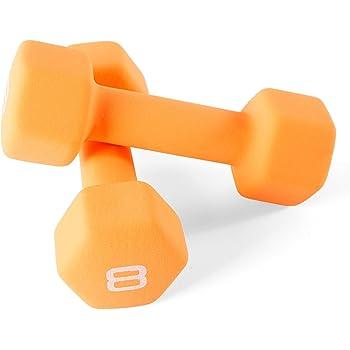 Cap Barbell Neoprene Coated Dumbbell Weights
